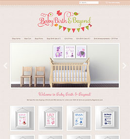 Baby Birth & Beyond Online Shop
