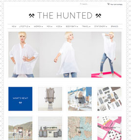 The Hunted Online Store