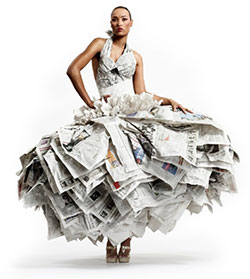 newspaper-dress