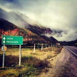 Road to Cachi Instagram