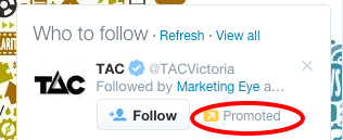 Twitter ad example 2