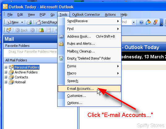 Email outlook2003 1.png