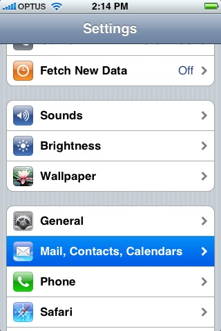 How to configure an Apple iPhone using IOS 6 - Spiffy Stores